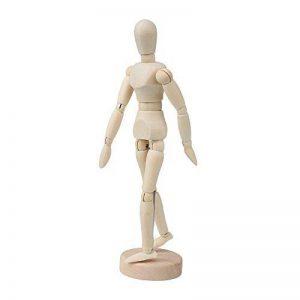 14cm Artistes Mobile en bois Mannequin Mannequin réglable Membres humains de la marque Tools & Home Improvement image 0 produit