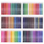 168 Crayons de couleur - 168 comptez Pré-affûtée Couleurs vives (pas de Doublons) Art Dessin Ensemble de crayons de couleur pour des livres de de la marque image 2 produit