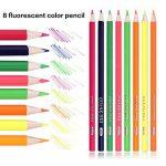 168 Crayons de couleur - 168 comptez Pré-affûtée Couleurs vives (pas de Doublons) Art Dessin Ensemble de crayons de couleur pour des livres de de la marque image 3 produit