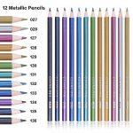 168 Crayons de couleur - 168 comptez Pré-affûtée Couleurs vives (pas de Doublons) Art Dessin Ensemble de crayons de couleur pour des livres de de la marque image 4 produit
