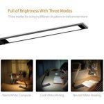 1byone LED Lampe de Bureau 360 ° Rotation Pliable Contrôle Tactile 3 Lumières & 6 Niveau de luminosité Portable Table Lumineuse USB Rechargeable de la marque 1Byone image 2 produit
