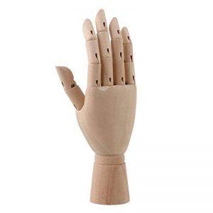 20,3cm Corps Artiste Modèle articulé en bois de mannequin Mannequin Main droite pour art Dessin Right hand de la marque Unbekannt image 0 produit