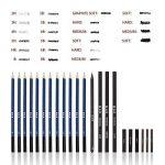 33pcs Crayons de Dessin,Lypumso Crayons Croquis Kit de Croquis Dessin avec Sac Inclus Gomme Crayon de Charbon Graphite Outils pour Dessiner de la marque Lypumso image 2 produit