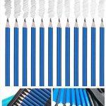 36 PCS Set d'art de Crayons Fusain Pour Dessin et croquis, Materiel Dessin Professionnel Gommes à effacer et aiguisoirs Carnet de croquis a5 - idéal pour les travaux scolaires et professionnels de la marque Flyv image 3 produit
