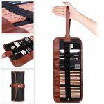 8 In 1 Set de Crayons Croquis Professionnel Crayons à Dessin Outil Pour Artiste Avec Sac de Toile de la marque LY image 2 produit