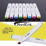 80 marqueur de couleur stylo, double indice de texte marqueur Graffiti Pen, 80 couleurs pour les élèves dessinateur de dessins animés de l'école de la marque NetEraEU image 3 produit