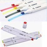 80 marqueur de couleur stylo, double indice de texte marqueur Graffiti Pen, 80 couleurs pour les élèves dessinateur de dessins animés de l'école de la marque NetEraEU image 2 produit