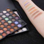 Abody Palette de Maquillage Professionelle 120 couleurs fard à paupières ombre à paupière Neutre Warm Eye Shadow de la marque Abody image 3 produit