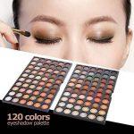 Abody Palette de Maquillage Professionelle 120 couleurs fard à paupières ombre à paupière Neutre Warm Eye Shadow de la marque Abody image 4 produit