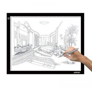AGPtek LEGERE Tablette Lumineuse - LED Pad Pour Dessiner - Plaque Avec Luminosité Réglable (A3) de la marque AGPTEK image 0 produit