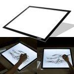 AGPtek LEGERE Tablette Lumineuse - LED Pad Pour Dessiner - Plaque Avec Luminosité Réglable (A3) de la marque AGPTEK image 4 produit