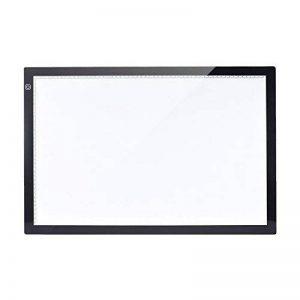Aibecy A2 Tablette Lumineuse - Super Mince LED Pad Pour Dessiner - 3 niveaux de luminosité réglable Intelligent Touch Control Pour Dessiner Esquisse Architecture Calligraphie Tatouage Artisanat (A2) de la marque Aibecy image 0 produit