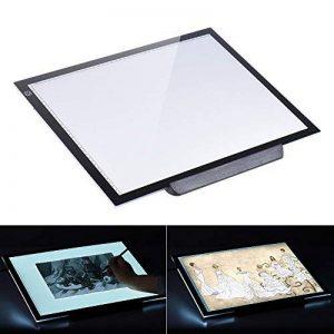 Aibecy A3 Tablette Lumineuse LED Pad Pour Dessiner + 3 Niveaux de Luminosité Réglables 47 * 37 cm avec un Support Multifonctionnel de la marque Aibecy image 0 produit