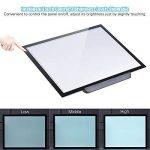 Aibecy A3 Tablette Lumineuse LED Pad Pour Dessiner + 3 Niveaux de Luminosité Réglables 47 * 37 cm avec un Support Multifonctionnel de la marque Aibecy image 2 produit