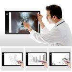 Amzdeal Tablette Lumineuse A4 avec 6 Niveaux Réglables de Luminosité LED 5mm Ultre-Mince avec Cable USB pour Croquis Esquisse Architecture Calligraphie de la marque Amzdeal image 3 produit