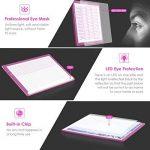Amzdeal Tablette Lumineuse A4 Luminosité Réglable 2 Mode(10 Niveaux/Réglable en Continu) Table Dessin Ultra-Mince avec USB Câble et 4* Aimant Applicable à 2D Animation Architecture Calligraphie - Rose de la marque Amzdeal image 2 produit