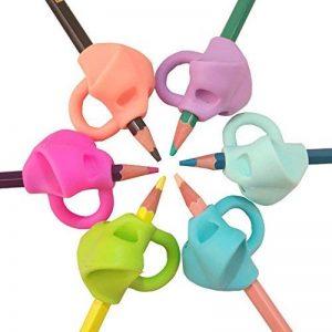 ANGTUO 3 PCS Mise À Niveau Crayon Grip Écriture Posture Aide Outil Correcteur Silicone Griffe Poignée Titulaire pour Enfants ou Adulte de la marque ANGTUO image 0 produit