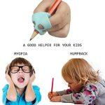 ANGTUO 3 PCS Mise À Niveau Crayon Grip Écriture Posture Aide Outil Correcteur Silicone Griffe Poignée Titulaire pour Enfants ou Adulte de la marque ANGTUO image 3 produit