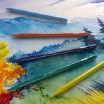 Arteza Crayons De Couleur Aquarelle Haut De Gamme Sans Bois Set De 24 Couleurs, Soluble Dans L'eau, Non Toxique, Dessin D'art, Tons Assortis Lumineux, Idéal Pour Artistes Débutants Et Professionnels de la marque ARTEZA® image 4 produit