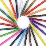 Arteza Crayons De Couleur Aquarelle Haut De Gamme Sans Bois Set De 24 Couleurs, Soluble Dans L'eau, Non Toxique, Dessin D'art, Tons Assortis Lumineux, Idéal Pour Artistes Débutants Et Professionnels de la marque ARTEZA® image 1 produit