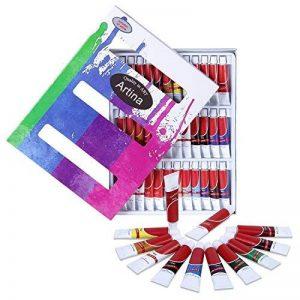 Artina - Lot de 36 tubes peinture à l'huile de 12ml pour artistes Fortement pigmentées - Idéal pour les loisirs et les peintres professionnels de la marque Artina image 0 produit