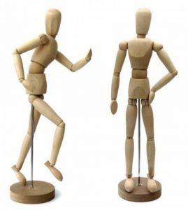 Artina - Modèle de dessin - Figurine pour dessin - Mannequin - En bois - 30cm de la marque Artina image 0 produit