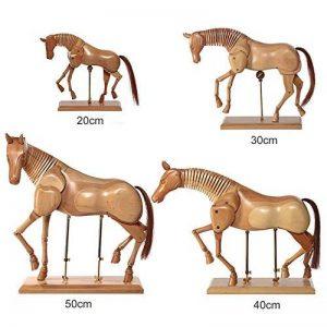 Artina Modèle de dessin - Figurine pour dessin - Cheval En bois - 20cm de la marque Artina image 0 produit