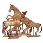 Artina Modèle de dessin - Figurine pour dessin - Cheval En bois - 20cm de la marque Artina image 3 produit