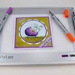 Artograph AR225-922 Lightpad A920 Table Lumineuse Blanc 15 x 23 cm Taille A5 de la marque Artograph image 1 produit