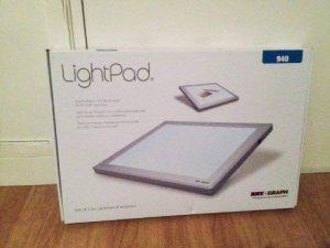 Artograph AR225-942 Lightpad A940 Table Lumineuse Blanc 30 x 43 cm Taille A4 de la marque Artograph image 0 produit