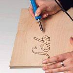 Asigo Kit Pyrograveur V2 24 pièces professionnel | Pyrograveur à Bois, Liège, Cuir et Cire | Fer à souder - 30 W/230 V | Kit de bricolage de la marque Asigo image 3 produit