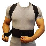 Bande Correction Dos Posture dos ajustable posture correcteur pour les hommes et les femmes épaule correction ceinture ceinture de support de la marque Yosoo image 1 produit