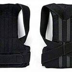 Bande Correction Dos Posture dos ajustable posture correcteur pour les hommes et les femmes épaule correction ceinture ceinture de support de la marque Yosoo image 2 produit