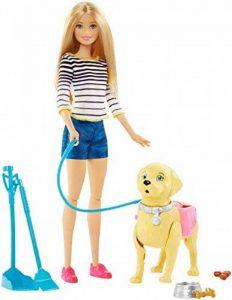 Barbie DWJ68 - Poupées - Balade Du Chien de la marque Barbie image 0 produit