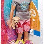 Barbie - FBD71 - Ken Surfeur et son chien de la marque Barbie (BAT2S) image 3 produit