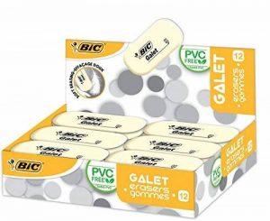 Bic gomme galet en caoutchouc synthétique - 58 x 28 x 13 mm-lot de 12 de la marque BIC image 0 produit