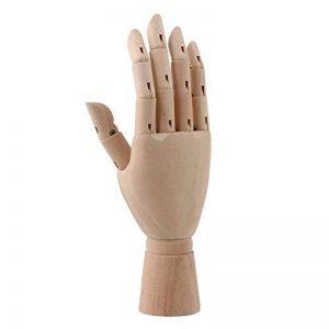 BQLZR Mannequin en bois Main droite 20,3cm de la marque BQLZR Tools & Home Improvement? image 0 produit