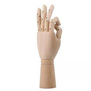 BQLZR Modèle de mannequin articulé de 30,5cm, mannequin homme et femme en bois pour Art Dessin, N03344 de la marque BQLZR image 0 produit