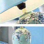 CAIJUN Lampe de table européenne Chambre à coucher Belle maison à la mode et élégante Lampes de table (Couleur : A5) de la marque CAIJUNdengju image 2 produit