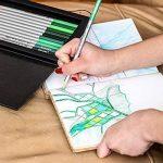 Colore - Crayons d'Édition dictionnaire - Ensemble de 60 crayons de couleur Prime Pré-taillés pour dessiner des pages à colorier - Un super équipement d'art scolaire pour enfants et adultes - Livres à colorier - 60 couleurs vibrantes de la marque Coloured image 2 produit