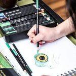 Colore Crayons de couleur - Ensemble de 72 crayons de couleur prime Pré-taillés pour dessiner des pages à colorier - Un super équipement d'art scolaire pour enfants et adultes - Livres à colorier- 72 couleurs de la marque Colore image 3 produit