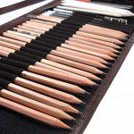 Crayon de Croquis Crayons de Dessin, Ho! Art Set de Esquisse Artiste Outils avec Rouleau Sac Inclus Gomme Crayon, Boîte-cadeau Cadeau Parfait Outil Pour Artiste de la marque Ho! Art image 3 produit