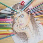 Crayons de couleur pour des livres de coloriage pour adulte. Incroyable Crayons de couleur pour adultes et enfants. Amerigo Lot de 36Couleurs + Taille-crayon gratuit. doux Cœur. Excellent également Crayons pour les enfants. de la marque Amerigo image 5 produit