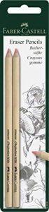 Crayons à gomme X 2(Rose) Faber-Castell de la marque Faber-Castell image 0 produit