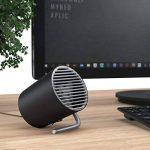 CSL - USB ventilateur de table   ventilateur portable / Mini USB Desk Fan   réglage de vitesse de 2 niveaux   économique en énergie   flux d'air élevé (2x rotors)   angle d'inclinaison d'env. 30°   portable / idéal pour les applications mobiles de la marq image 4 produit