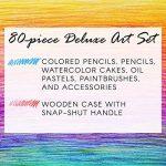 Darice 1103-08 Ensemble d'Artiste Professionnel Acrylique Multicolore 36,8 x 23,1 x 7,4 cm de la marque Darice image 4 produit