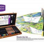 Derwent Academy, kit d'art dans une boîte en bois de la marque DERWENT image 1 produit