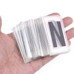 DIY Film Lightbox - 90 lettres, chiffres, symboles, créez un marqueur de sélection personnalisé LED USB ou d'une batterie alimentée (A4) de la marque RiseSun image 3 produit