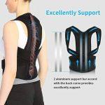 Doact Posture Correcteur Bande Correction Ajustable Support Dorsal Corrige la posture de vos lombaires et des épaules, Unisexe de la marque DOACT image 1 produit