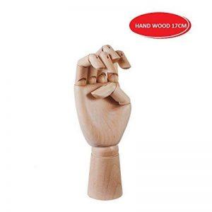 EMI Craft Modèle de Main S (17cm) Articulé en Bois Mannequin D'une Main de la marque EMI Craft image 0 produit